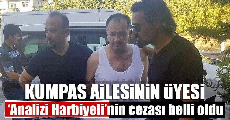 'Analizi Harbiyeli'ye 4 kez müebbet hapis cezası