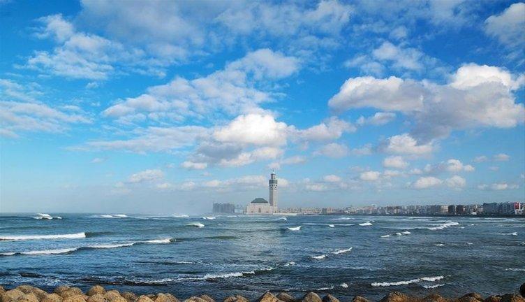 Denizin gökyüzü ile birleştiği yer