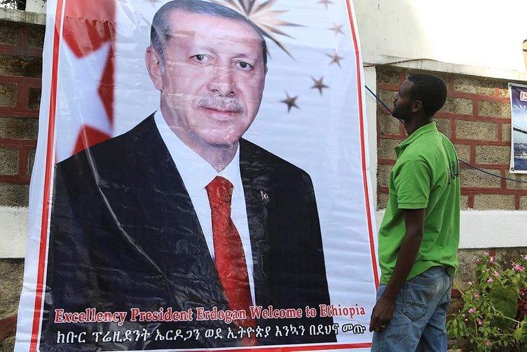 Etiyopya Cumhurbaşkanı Erdoğan'ı bekliyor