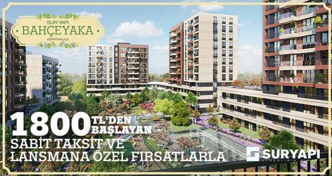 """""""Sur Yapı Bahçeyaka Ispartakule'de Satışta"""""""