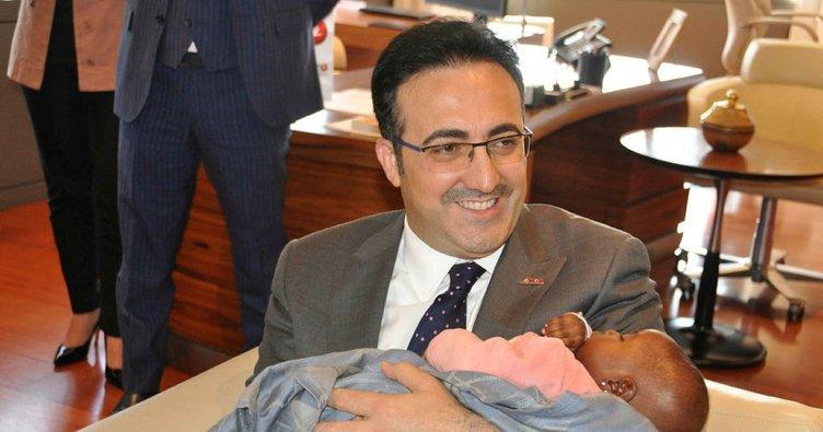 THY uçağında doğan Kadiju bebek İstanbul'da