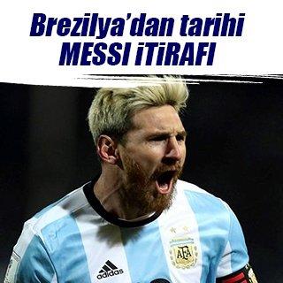 """""""Messi keşke Brezilyalı olsaydı"""""""
