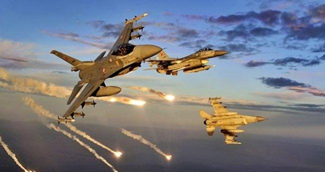 PKK'ya hava harekatı yapıldı! İşte öldürülen terörist sayısı