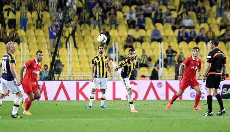Fenerbahçe - Gaziantepspor maçının fotoğrafları