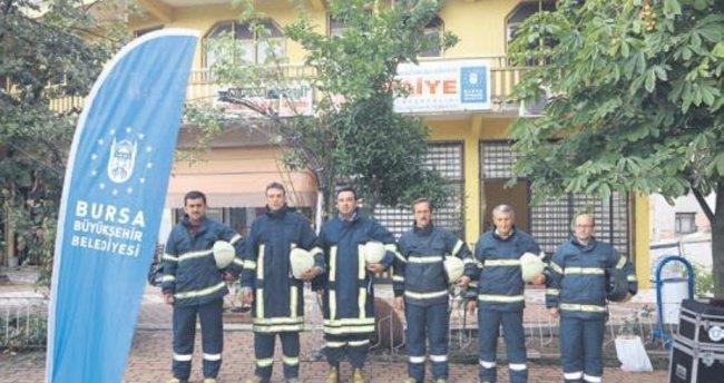 Gönüllü itfaiye istasyonu sayısı 66'ya yükseldi