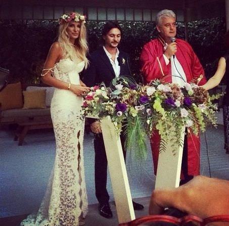 Şeyda Coşkun evlendi