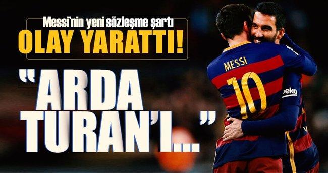 Messi'nin yeni sözleşme şartı olay yarattı!