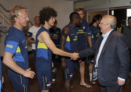 Aziz Yıldırım'dan futbolculara veda