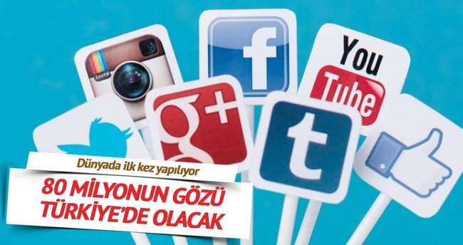 80 milyonun gözü Türkiye'de olacak