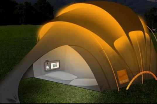 Birbirinden ilginç çadır modelleri
