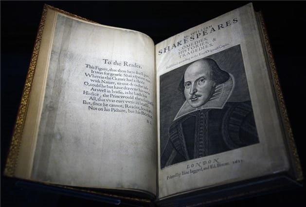 Her biri Shakespeare imzalı