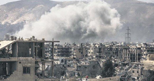 Şam'da muhalifler rejimle çatışıyor