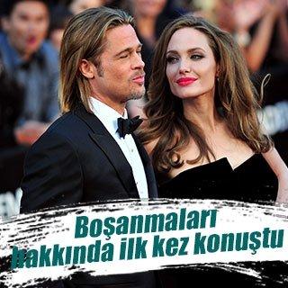 Angelina Jolie boşanma hakkında ilk kez konuştu