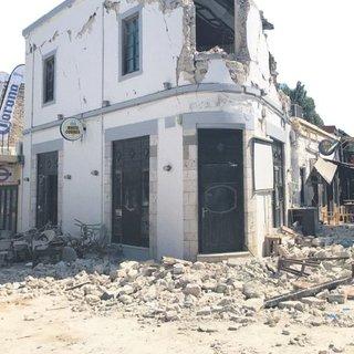 En ağır hasar Kos'ta