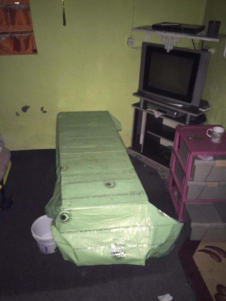 Teröristlerin tedavi edildiği ev bulundu