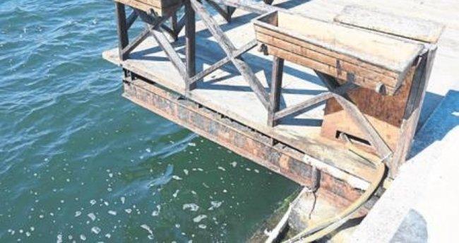 Kıyı bandındaki seyir terasları ilgisiz kaldı