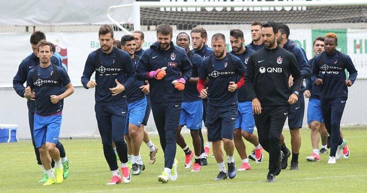 Trabzonspor, Başakşehir'e karşı tam kadro