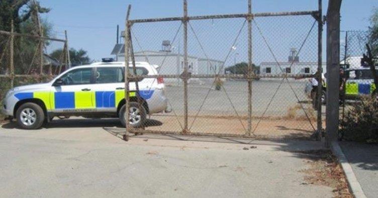 Güney Kıbrıs'da İngiliz askeri üssüne saldırı