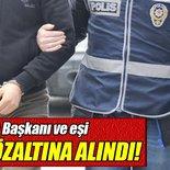 Belediye Başkanı ve eşi FETÖ'den gözaltına alındı!