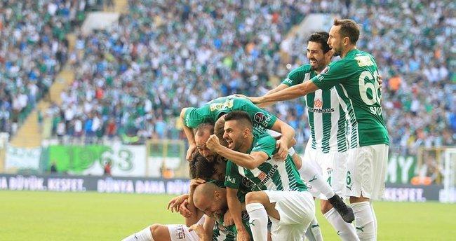 Bursaspor tek golle geçti