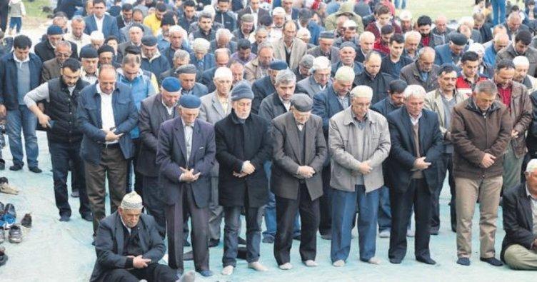 Başkan Fatih Duruay yağmur duasına katıldı