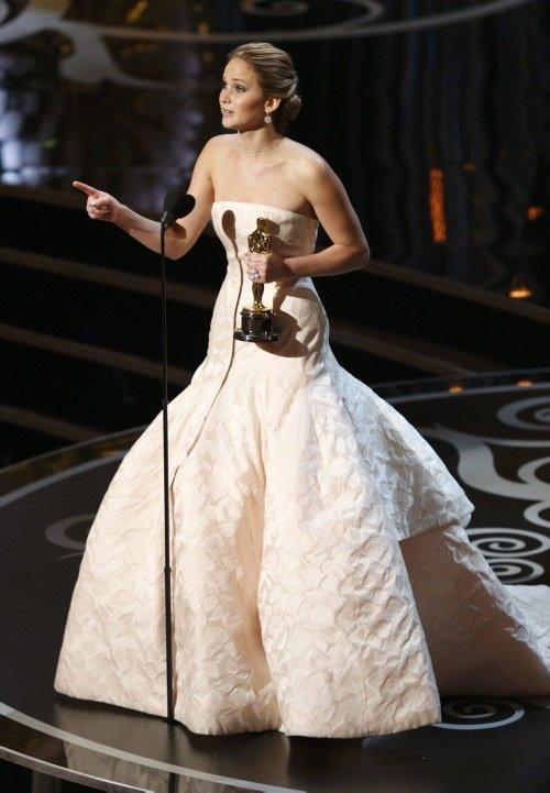 Oscar'ın şanssız güzeli