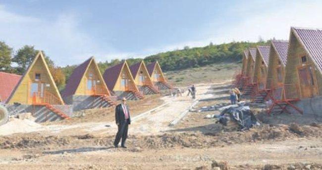 İznik Belediyesi bungalov evlerde sona geldi