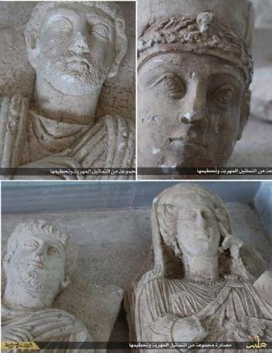 Palmira tarihine DAEŞ balyozu