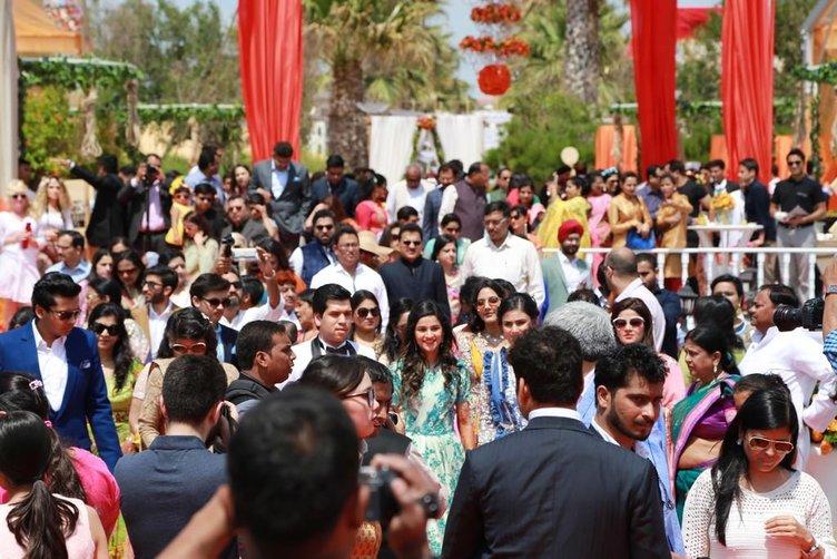 Antalya'da 3 gün 3 gece sürecek Hint düğünü!