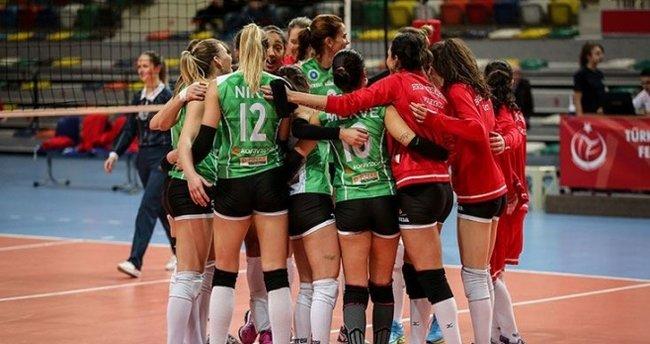Voleybol Kadınlar Challenge Kupası'nda Bursa damgası