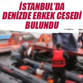 Fatih'te denizden erkek cesedi çıkarıldı