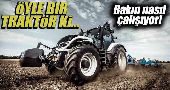 Bu traktörlerde sürücü yok