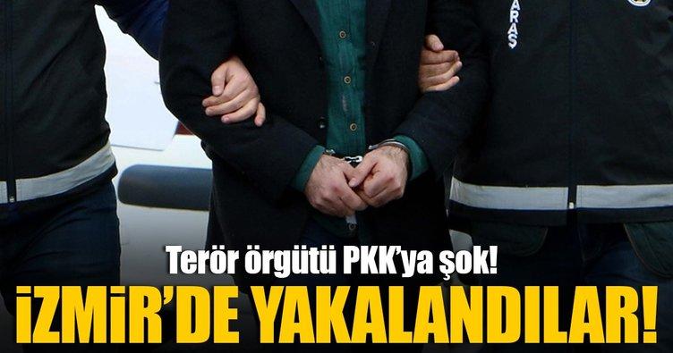 İzmir'de terör operasyonu: 14 gözaltı