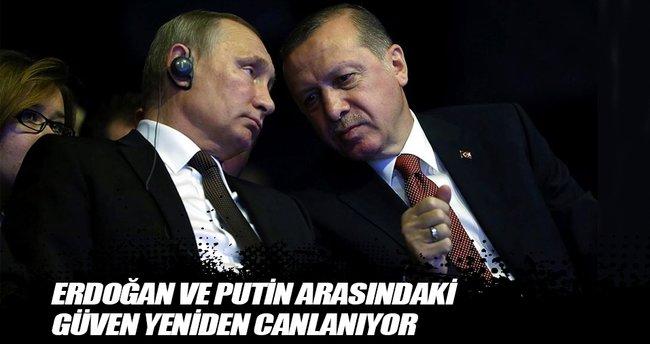 Erdoğan ve Putin arasındaki güven yeniden canlanıyor
