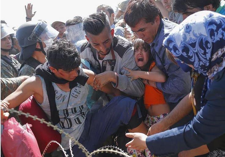 Avrupada Yaşanan Göçmen Krizinden 23 Çarpıcı Kare