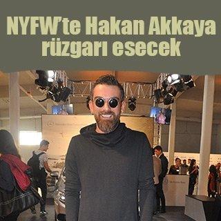 New York Fashion Week'te Hakan Akkaya rüzgarı esecek