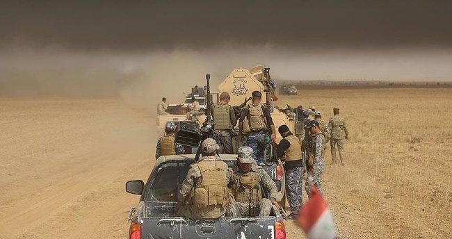 Musul'un girişinde Irak ordusu ile DEAŞ arasında yoğun çatışma