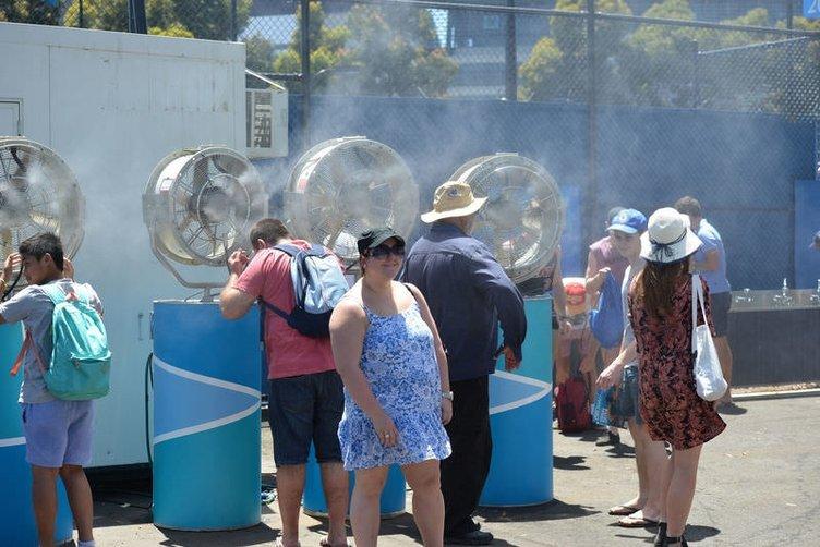 Avustralya'da sıcaklıklar 45 dereceyi aştı