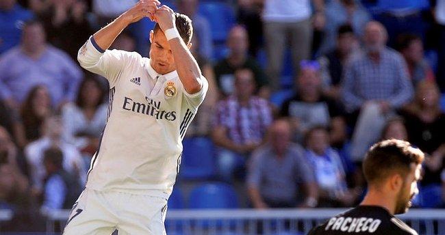 Hat-trick Ronaldo'dan sorulur