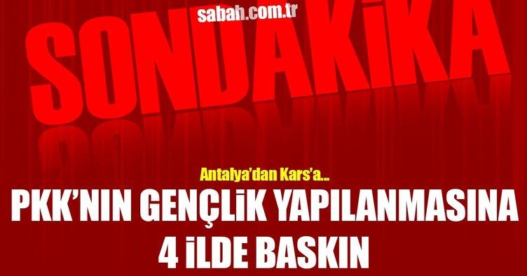 PKK'nın gençlik yapılanmasına yönelik operasyon