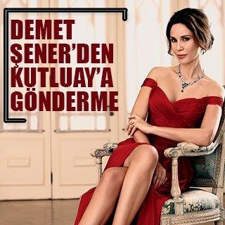 Demet Şener'den boşanma hazırlığı yaptığı eşine gönderme