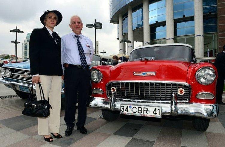 Başkentliler klasik model otomobillerle buluştu
