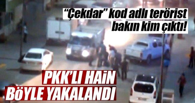 Hakkari'de PKK'lı terörist böyle yakalandı