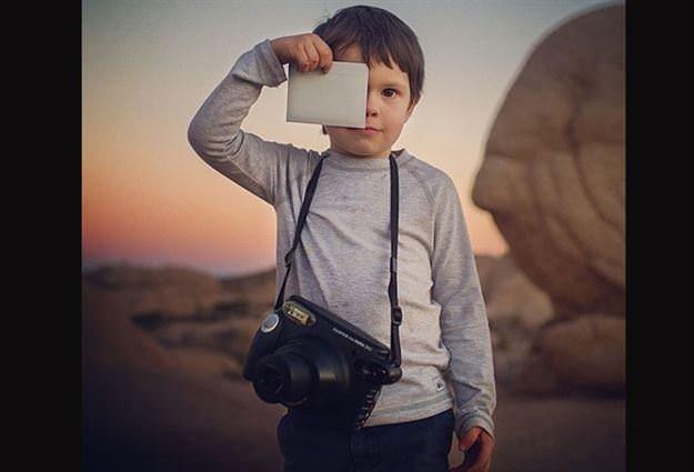4 yaşındaki dahi fotoğrafçı