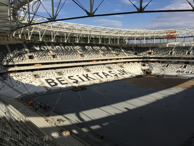 Vodafone Arena'nın son hali