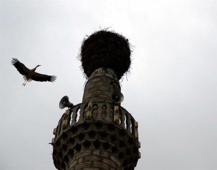 Bu minare köyün simgesi oldu!
