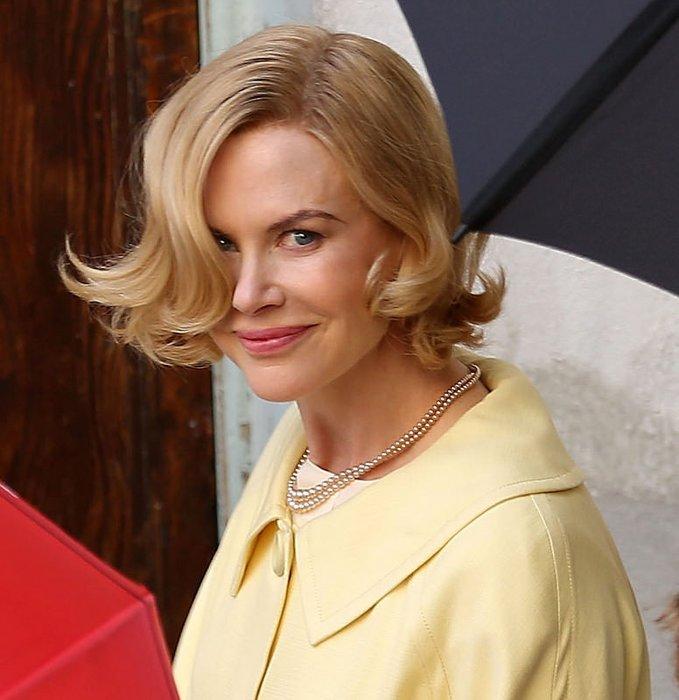 Monako Prensesi Grace filminden kareler