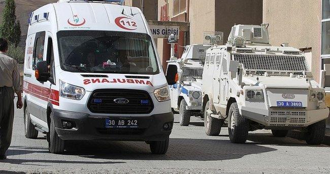 Hakkari'deki saldırıda yaralanan asker şehit oldu