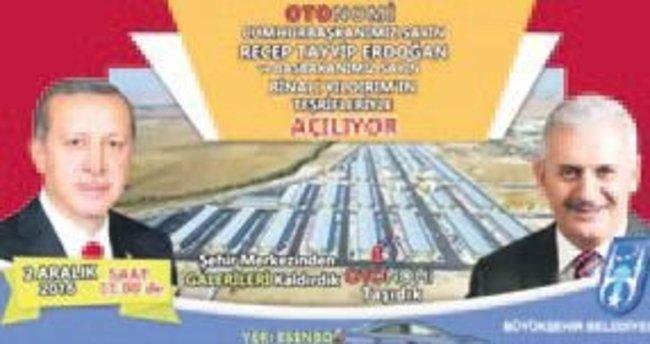 Otonomi'nin resmi açılışını Cumhurbaşkanı yapacak