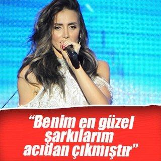 Sırp şarkıcı Emina Sandal: Benim en güzel şarkılarım acıdan çıkmıştır